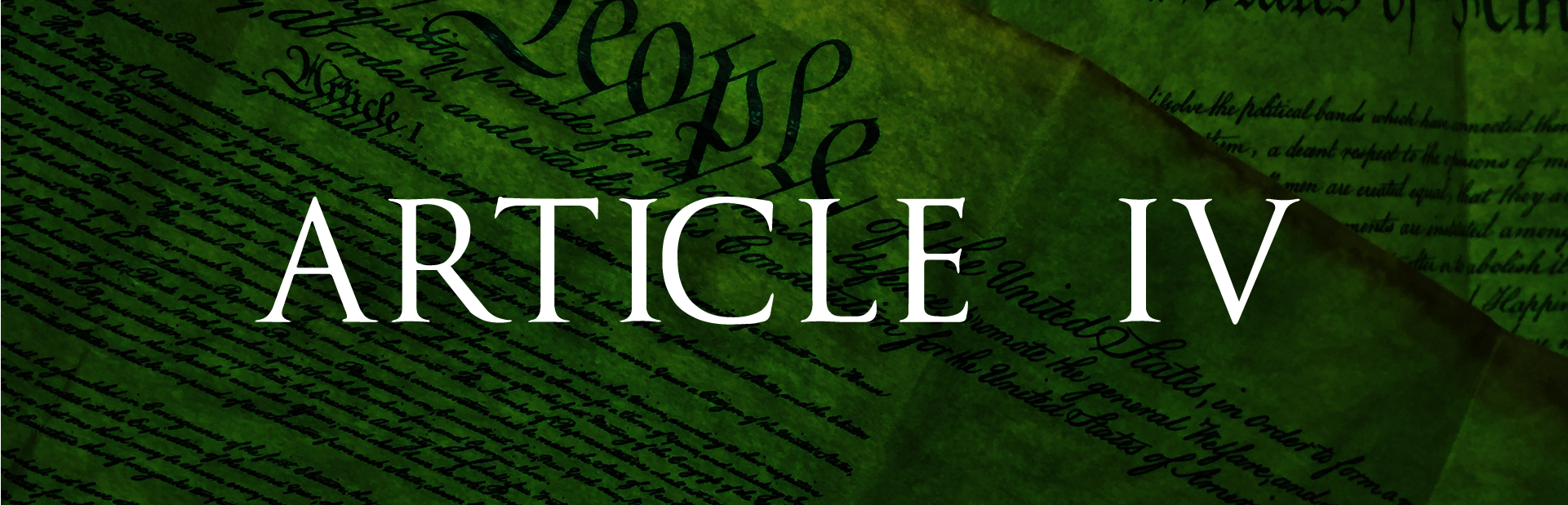 The Constitution - Article IV, section 2, clause 3 » SLG ...