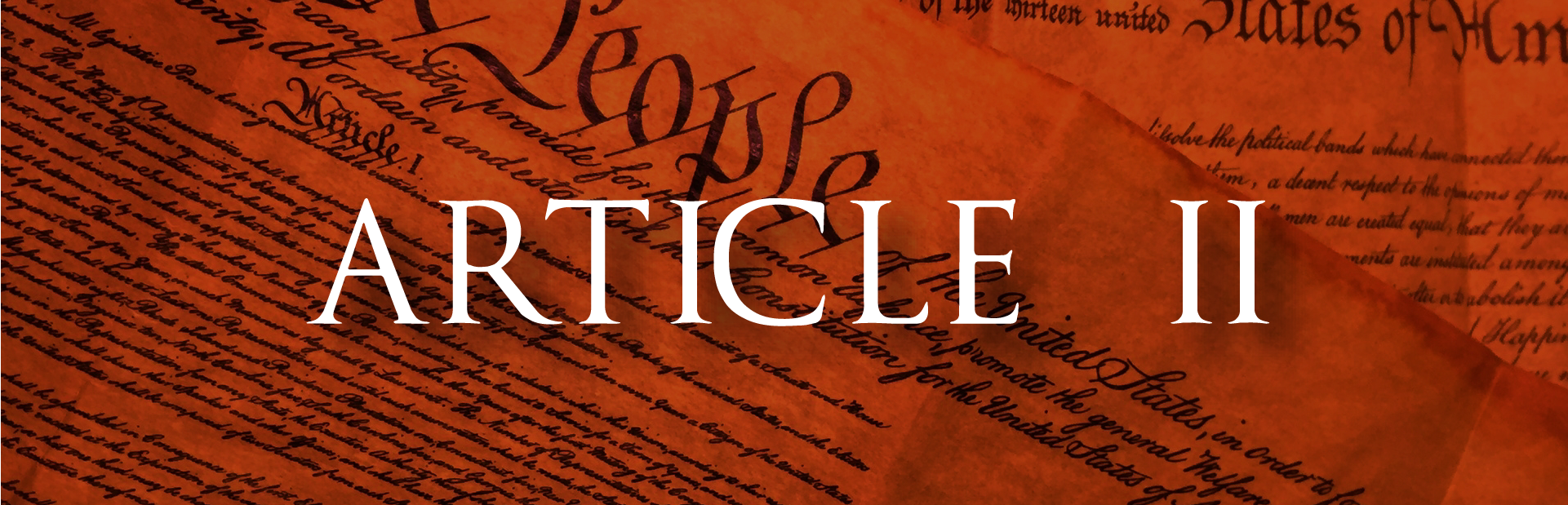 The Constitution - Article II, section 1, clause 1 » SLG ...